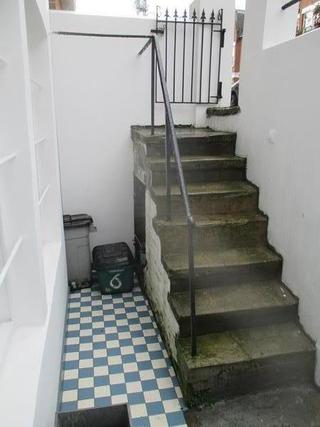 Typical Basement Steps Before Rebuild
