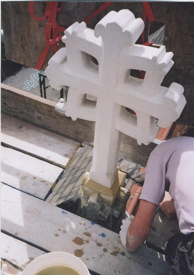 Bath Stone Cross, Tottenham RC Church