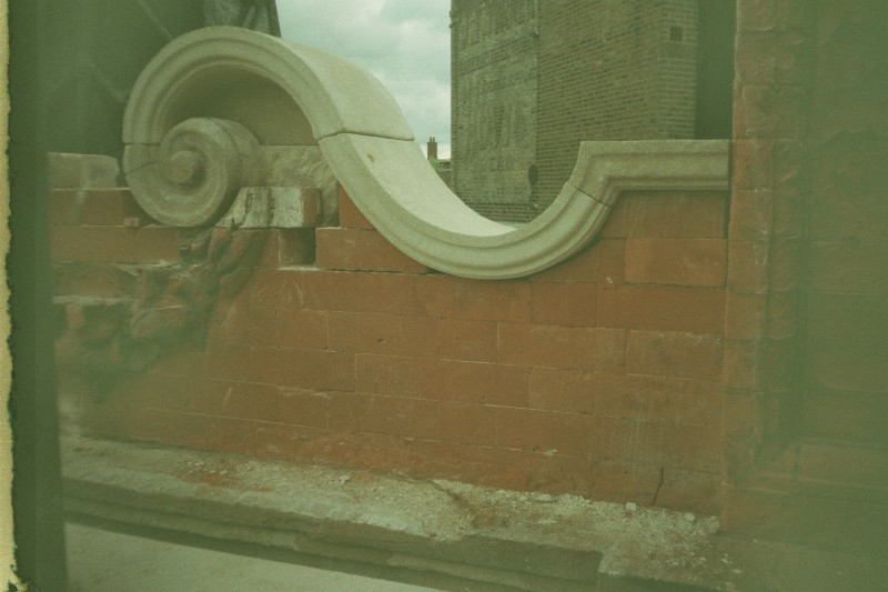 Bath Stone Curved Copings, Old Dairy Pub, Crouch End