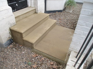 Bullnose York Stone Steps