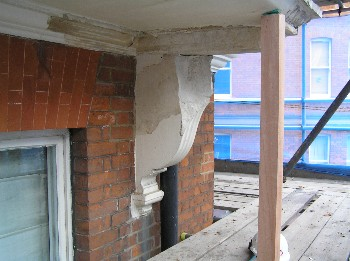 Corbel Before Repair