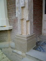 Finished Repaired Plinth Ready For In-plants