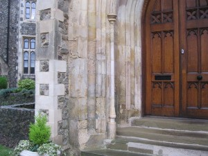 Front Entrance Before Facelift