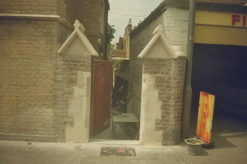 Bath Stone Copings, Fulham RC Church
