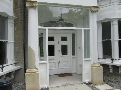 Main Entrance After Repairs