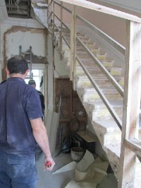 Portland Staircase Before Repairs