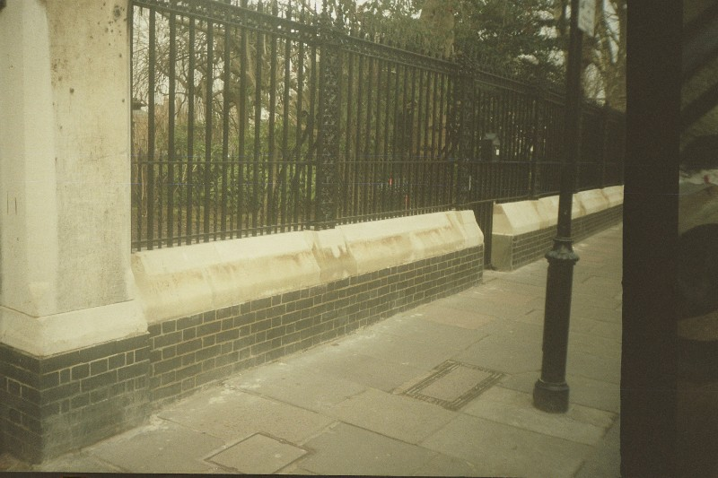 Portland Stone Plinth, Stone Solid and Stone Render Repairs