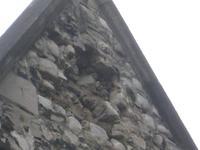 Rag Stone Walling Before Repairs