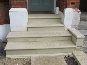 Sandstone Steps and Risers