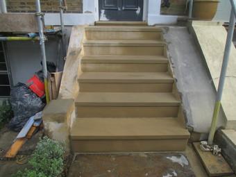 Sawn Six Sided Steps