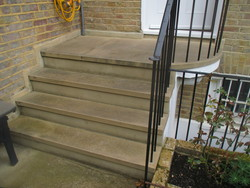 Sawn Six Sided Steps