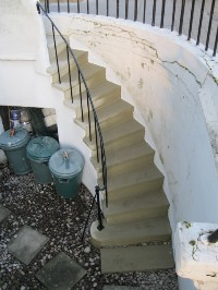York Stone Stair After Rebuild