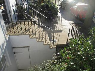 Unusual York Stone Steps After Rebuild