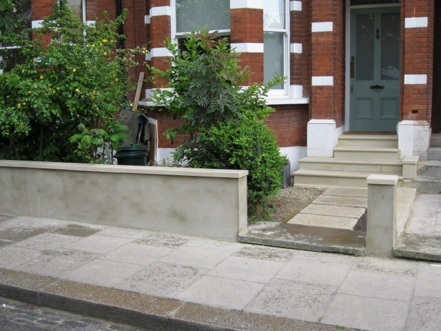 Wall Copings  Railing Plinth and Stepping Stone Front Path