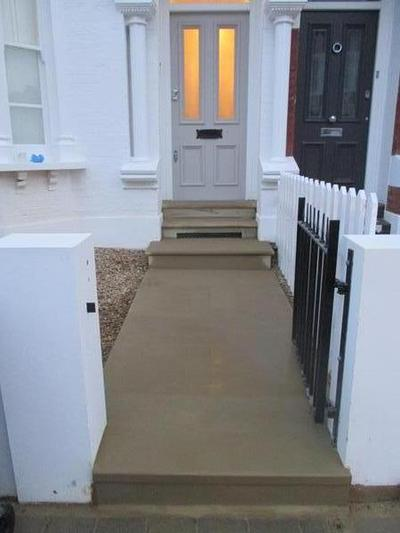 York Stone Steps and Paths Rebuild